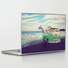 NEVER STOP EXPLORING THE BEACH Laptop & iPad Skin #holidays #vintage #lama #alpaca #camper #van #campervan #vw #volkswagen #giraffe #beach #waves #landscape #fun #funny #glasses #quote #typo #text #sky #clouds #artprint #art #print #poster #iphone #pillow #decor #decoration #girlsroom #boysroom #office #travel #outdoor #hideaway #mint #cute #collage #lamart #photography #skin #laptopskin #laptop #macbook