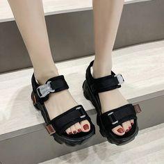 Women's Casual Shoes 2020 Summer Fashion Women Sandals Outdoor Refresh – Touchy Style Black Shoe Boots, Black Shoes Sneakers, Black Casual Shoes, Women's Casual, Women's Summer Fashion, Women Sandals, Homecoming Dresses, Fashion Women, Future