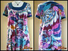 Simplicity 3790 blouse remade from dress http://juxtaposenz.blogspot.co.nz/