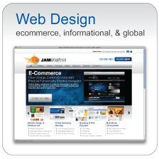 Web Design - Ecommerce, Informational & Global