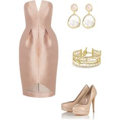 """""""Wedding guest outfit"""" by anamariameciu on Polyvore"""