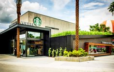 Starbucks' 500th LEED Certified Store Boasts a Roof of Coffee-Fed Lemongrass at Disney World Resort in Orlando | Inhabitat - Sustainable Design Innovation, Eco Architecture, Green Building