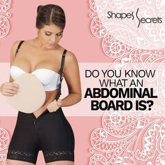 aa6933e3c01 The liposuction abdominal board is a postsurgical accessory that helps you  to flatten your tummy give