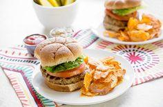 Worcestershire Turkey Burger