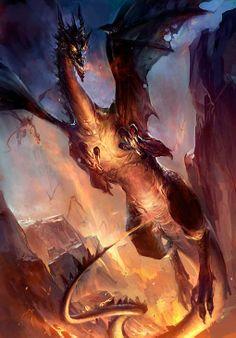 Check Out 25 Best Epic Dragon Art Picture Gallery. Dragons are legendary creatures, typically with serpentine or otherwise reptilian traits, that feature in the myths of many cultures. Dragon Pictures, Art Pictures, Dragon Images, Photos, Fantasy Creatures, Mythical Creatures, High Fantasy, Fantasy Art, Fantasy Quotes