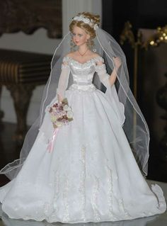 bride doll, another view, Cindy McClure