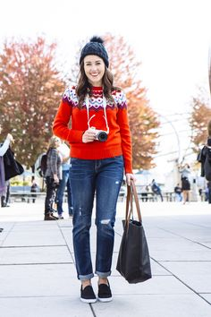 Fair Isle in the City on www.sequinsandstripes.com