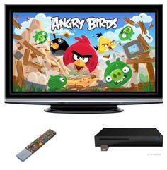 Angry Birds débarque sur la Freebox Revolution