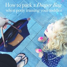 How to Pack a Diaper Bag When Potty Training Your Toddler – Life in Play Co
