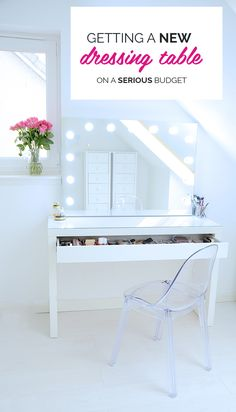 a new dressing table on a serious budget