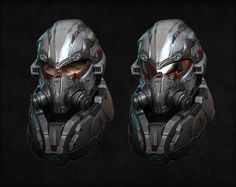 ArtStation - Personal project : Sci-fi soldier, Kevin Lee