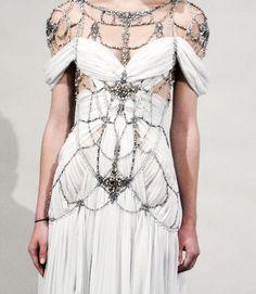 chain-bling dress