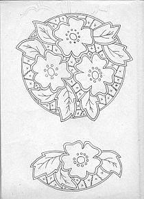 Flower details for napkins and tablecloths Cutwork Embroidery, Cross Stitch Embroidery, Embroidery Patterns, Point Lace, Cut Work, Lace Making, Filet Crochet, Coloring Pages, Sewing Crafts