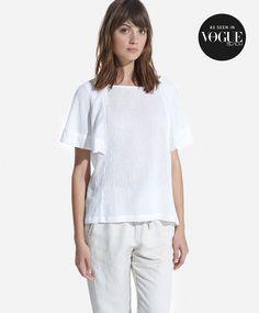 Camiseta manga campana - OYSHO