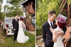 Vintage Circus Wedding: Stacey + Josh  For Wedding Accessories,visit us.  http://www.bridesadvantage.com
