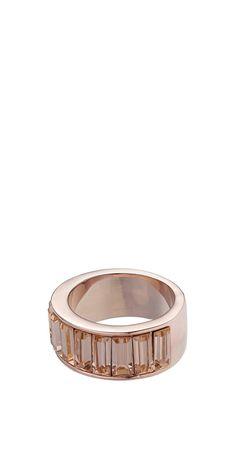 Chunky Baguette Ring