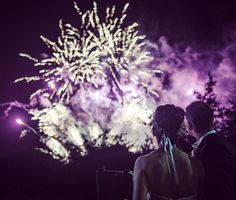 Amazing Fireworks To Celebrate A Super Wedding Day Macreddin Brooklodge Hotel Photo By Thefennells
