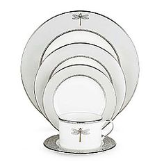 Erin McCully & Joseph Alford~May 25, 2013~ Kate Spade by Lenox June Lane Dinner Plate