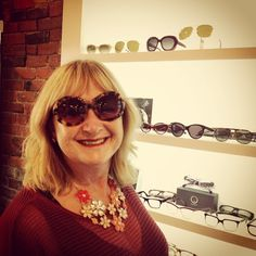 Ocean s Catch of the Day Ree is rocking the Audrey by OG Sunglasses olivergoldsmithsunglasses