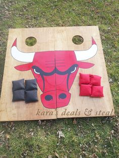 Custom Cornhole Board Set