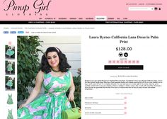 Yasmina Greco -  Laura Byrnes California Lana Dress in Palm Print