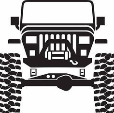 Image for Jeep Grill Logo Jeep Wrangler Yj, Cj Jeep, Jeep Truck, Jeep Stickers, Jeep Decals, Truck Decals, Jeep Drawing, Jeep Images, Grill Logo