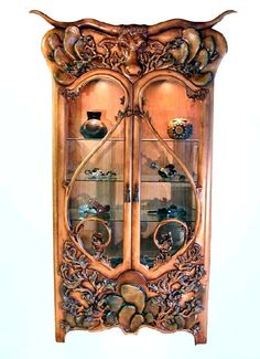 Cabinet of Art Nouveau