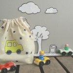Tuto DIY : le pochon Little Cars by Rosalie & Co