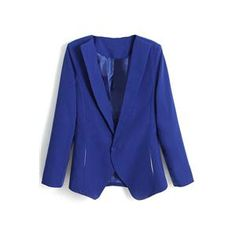 Lapel Slim Sheer Blue Blazer.Blue blazer, featuring lapel, buttonless and long sleeves styling, two pocketed design, slim fit, soft-touch fabric. Wearing it with any shirts, shorts and fashion sandals is a perfect choice. - See more at: http://pariscoming.com/en-lapel-slim-sheer-blue-blazer-p149212.htm#sthash.bBmYv6cL.dpuf