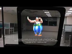 Augmented reality window lets you peer into a different version of the world around you