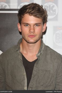 Jeremy Irvine ---a much better actor for the part of Peeta in Hunger Games! @Heidi Parker
