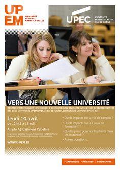 10/04/14 Réunion d'information : Vers une nouvelle université