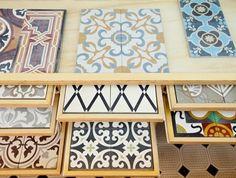 Noga - cement hand maid tiles - Jaffa -Tel- Aviv