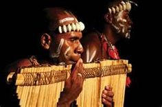 Dancing is often accompanied by bamboo bands, and panpipes are a popular accompaniment