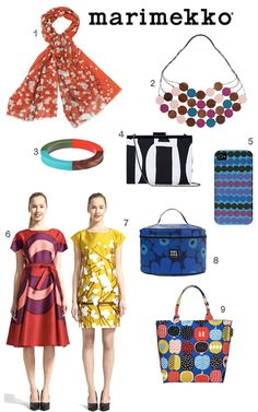 Marimekko Clothing Jewelry Accessories Presents 1960s Fashion, Look Fashion, Girl Fashion, Autumn Fashion, Womens Fashion, Marimekko Dress, Girl Outfits, Fashion Outfits, Fashion Trends