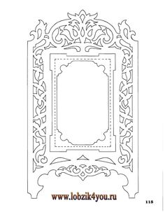 Художественное выпиливание .:. Classic Fretwork Scroll Saw Patterns (Sterling 1991 год)_116===goes with 117 pattern