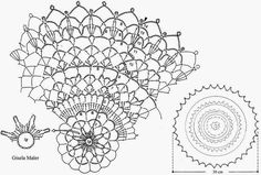 Crochet Art: Crochet Pattern Of Beautiful And Simple Doilies