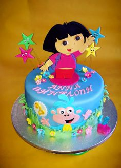 Pin by elda alvarado on dora the explorer cakes Pinterest Dora