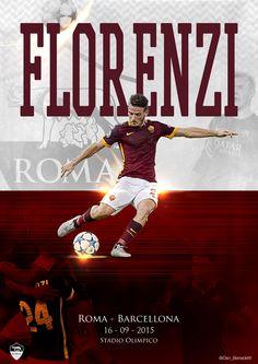 Alessandro Florenzi goal. Roma - Barcellona 16 09 2015 #florenzi #asroma #barcellona #championsleague