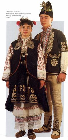 FolkCostume&Embroidery: Overview of the Folk Costumes of Europe, Bulgaria