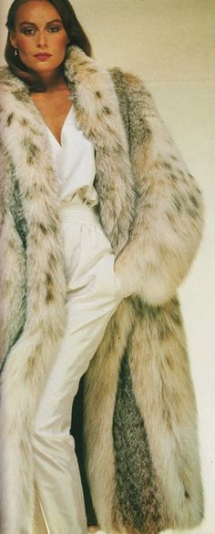 Lynx Fur Coat.  I want this coat!!!