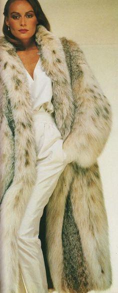 Lynx Fur Coat.  I want this coat!!!