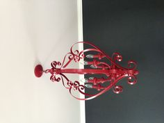 Upcycle old chandelier Old Chandelier, Repurposed, Upcycle, Eye Candy, Sweet Home, Kid, Ceiling Lights, Lighting, Garden
