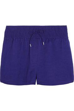 Acne|Drawstring woven shorts|NET-A-PORTER.COM