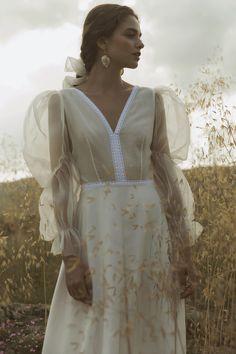 Black Wedding Dresses With Sleeves . Black Wedding Dresses With Sleeves Country Wedding Dresses, Best Wedding Dresses, Boho Wedding Dress, Boho Dress, Dress Up, Moda Boho, Mode Editorials, Mermaid Dresses, Mode Inspiration