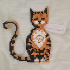 Cat perler beads by myperlercreations