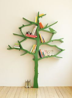 Made to Make: The Book Tree for the kids room or play room