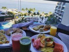 Breakfast is served.   El desayuno está listo. #repost @storyofthelion #uvcmembers #breakfast #vacationmode #nowamber #puertovallarta #breafastwithaview #instafood #delicious #uvcmemories #instagood Now Amber Puerto Vallarta, Pacific Blue, List, Night Life, Instagram, Breakfast