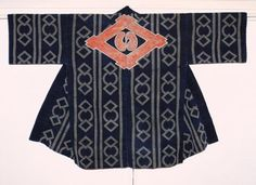 火消し半纏 Hikeshi-Bantem(firefighter jacket)Edo period