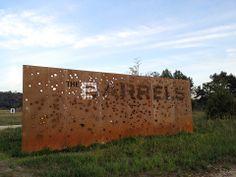 The Summit Bechtel Reserve BSA Site - The Barrels Identity #cutoutcortensteel